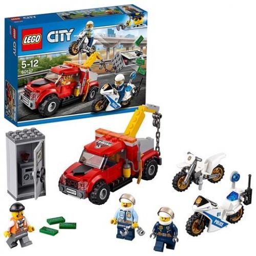 LEGO 60137 CITY - Abschleppwagen auf Abwegen