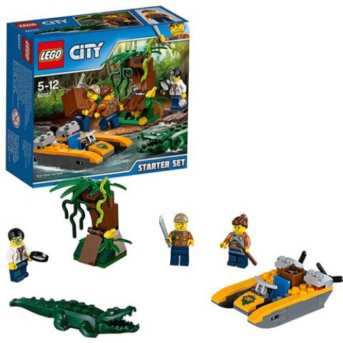 LEGO City 60157 Dschungel-Starter-Set
