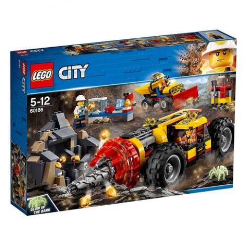 LEGO 60186 CITY -  Bergbauprofis