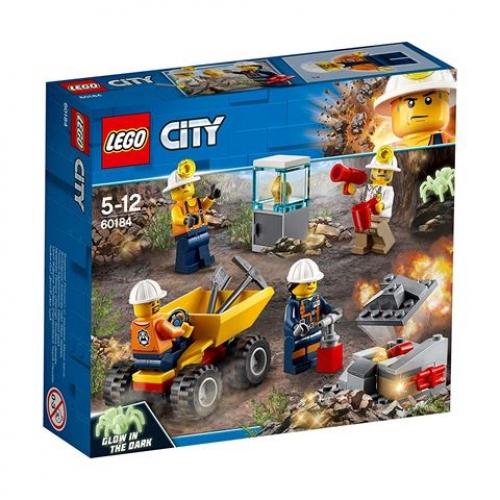 LEGO 60184  CITY -  Bergbauprofis Bergbauteam