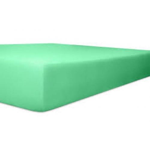 KNEER 50 FEIN-JERSEY STRETCH-BETTTUCH  180x200cm lagon