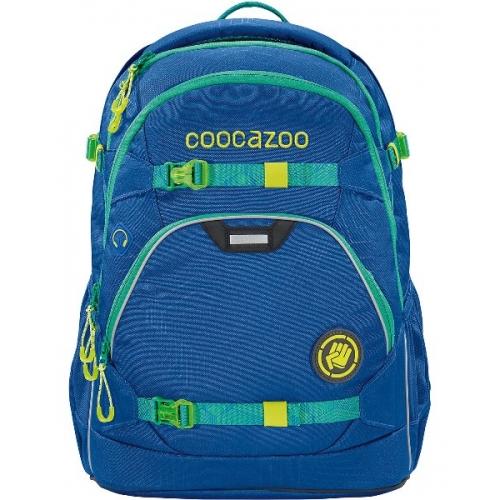 """COOCAZOO Schulrucksack """"ScaleRale"""" größenverstellbar (Laserbeam Blue)"""