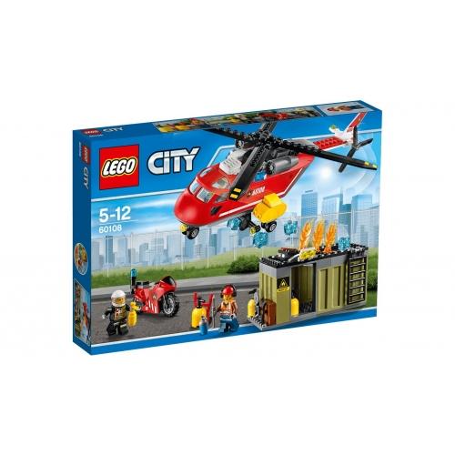 LEGO 60108 CITY -  Feuerwehr-Löscheinheit