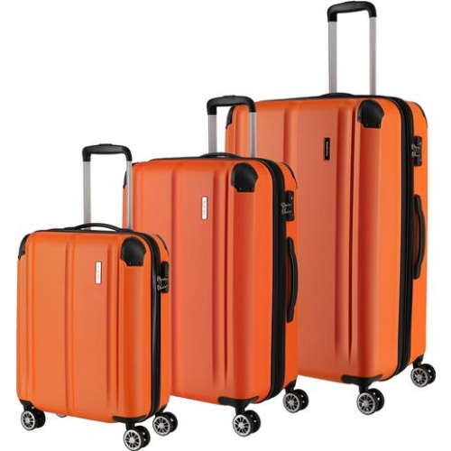 TRAVELITE 3er Trolley Set City (Orange)