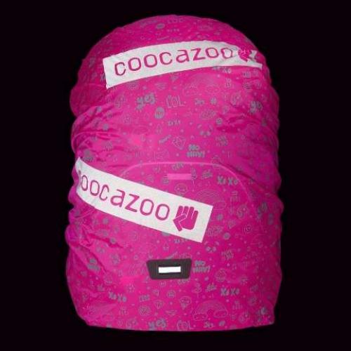 """COOCAZOO  Regenhülle """"WeeperKeeper"""", reflektierend (Pink Reflect)"""