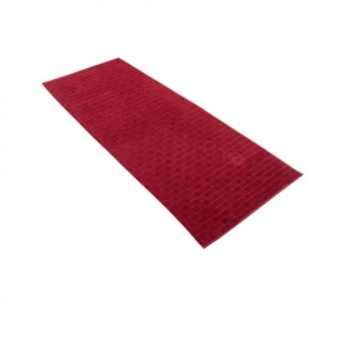 "VOSSEN Saunatuch ""Talis"" 80x200cm (Farbe rubin)"