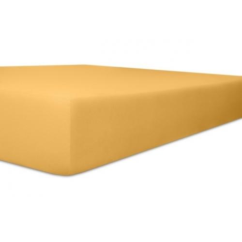 Kneer 50 Fein-Jersey Stretch-Betttuch 90x200cm sand