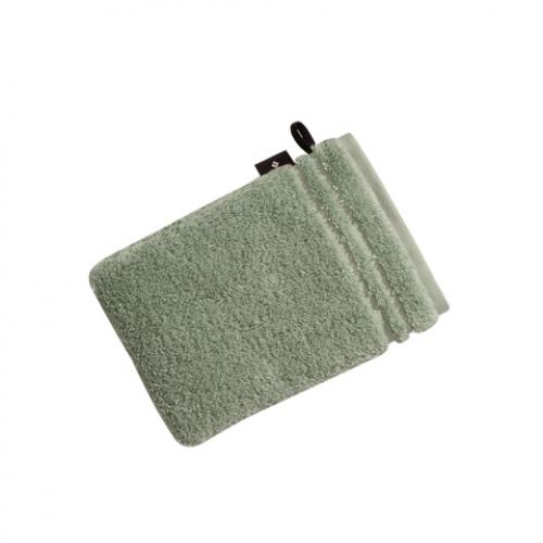 """VOSSEN Waschhandschuh """"Vienna Style Supersoft"""" 22x16cm (Farbe soft green)"""