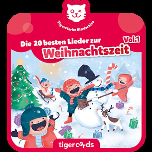 TIGERMEDIA tigercard: Die 20 besten Lieder zur Weihnachtszeit Vol.1