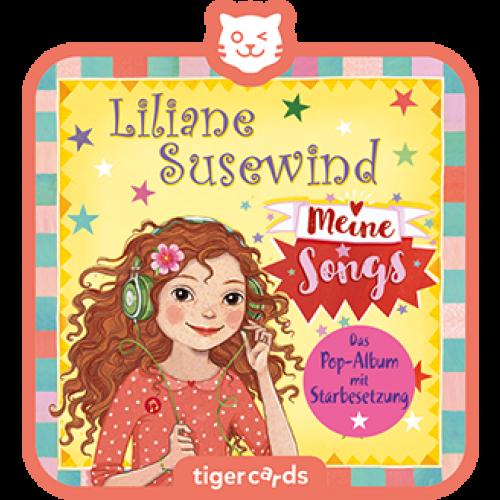 TIGERMEDIA tigercard: Liliane Susewind - Meine Songs