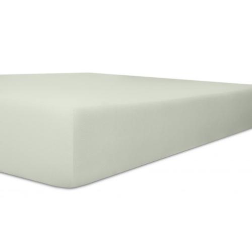 Kneer 50 Fein-Jersey Stretch-Betttuch 90x200cm weiss